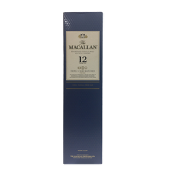 [CJ-0916] The macallan 12 años triple cask natured 70cl